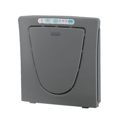 Zvlhčovač vzduchu DAP 700 E  (De Longhi), 3 stupně filtrace, ionizátor,  3 rychlosti – sleep, standard, turbo,  design pro úsporu místa, cena 2490Kč (EXPERT ELEKTRO).