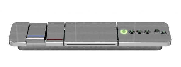 Baterie k vaně Cube (Albatros), sníž lze ovládat i hydromasážní  systém, cena i s vanou od 293371Kč (SANITEC).