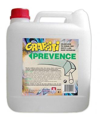 Graffiti prevence MO (balení 500ml) je ochranný nátěr, bránící vniknutí nástřiků graffiti do hloubky podkladu. Používá se na nenasákavé povrchy. Graffiti SV (balení 4l) transparentní nátěr propouští vodní páry (stavba dýchá). Nátěr nemění vzhled, zůstává matný anedochází ke změně odstínu barvy podkladového materiálu.