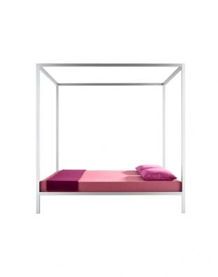 Aluminium Bed (MDF Italia), design B. Fattorini, cena 97907Kč (KONSEPTI).