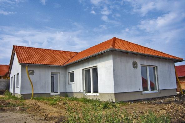 Pasivní dům takřka před dokončením