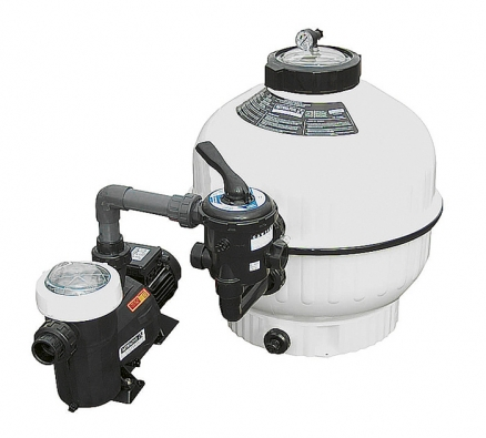Písková filtrace Azuro Profi pro bazény do objemu 85 m3 (MOUNTFIELD).