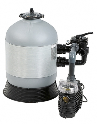 Písková filtrace Azuro pro bazény do objemu 85 m3  (MOUNTFIELD).