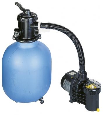 Písková filtrace Azuro pro bazény do objemu 25 m3 (MOUNTFIELD).