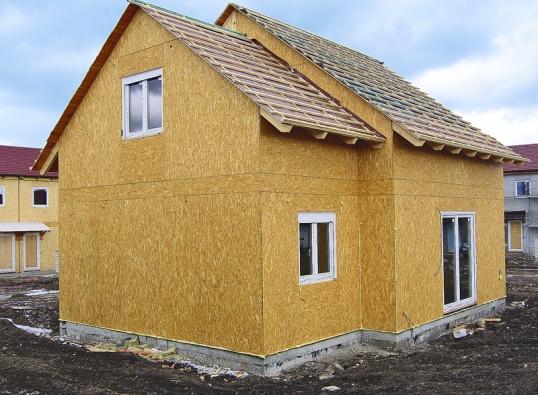 Domy z tvrzeného papíru