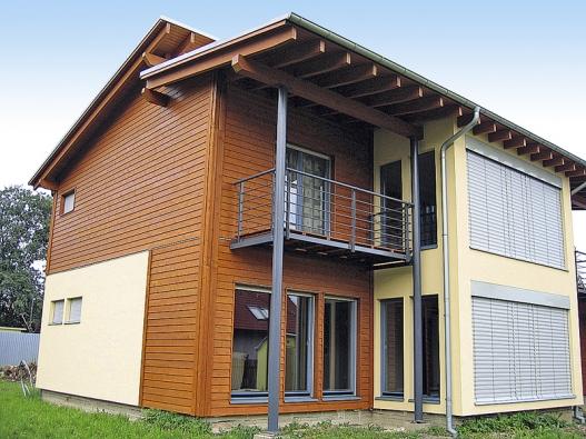 Příklad dokončené montované stavby (Kubis Vario – RD Rýmařov).
