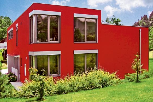 Tepelněizolační vlastnosti oken Trocal 88+ odpovídají izolačním hodnotám cihlové zdi otloušťce 80cm.
