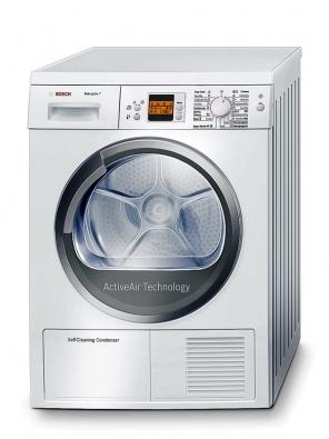 Tepelné čerpadlo ukondenzační sušičky Bosch WTW 86560 BY zaručuje nízkou spotřebu energie azařazení sušičky do energetické třídy A. Cena okolo 28000Kč.