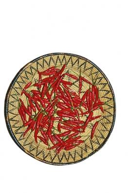 Cayenský pepř je ve skutečnosti paprika křovitá (C. frutescens) zFrancouzské Guyany.