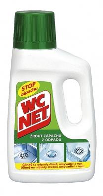Žrout zápachu WC NET je určen na čištění odpadů dřezů, umyvadel avan (BOLTON).