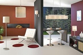 Lustry a lampy dodají interiéru švih