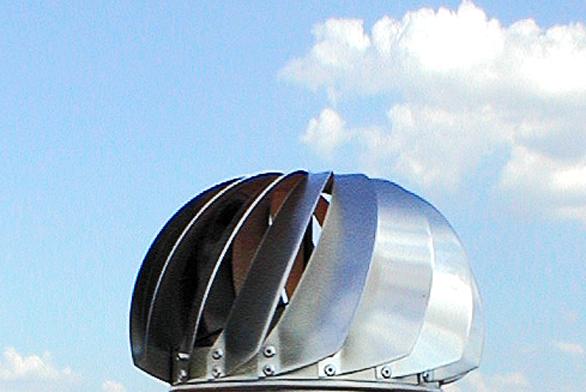 Ventilační turbína VIV je originální český výrobek sdlouholetou tradicí (RAUL VĚTRACÍ SYSTÉMY).