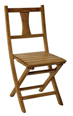 Pohodlná skládací židle zmasivu stojí 4600Kč (INTERIÉR DEL´ ARTE).