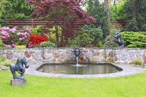 Zahrada, kde voda spojuje dva světy