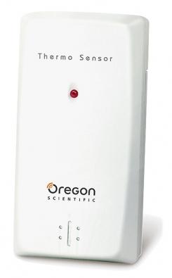 Budík ukazuje přesnou teplotu vnitřní ivenkov-ní, tu se dozvídá rádiově odčidla zaoknem.