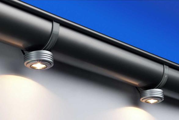 Prostor před domem osvětlí sada Spotlight 12 V/20 W (Glynwed).