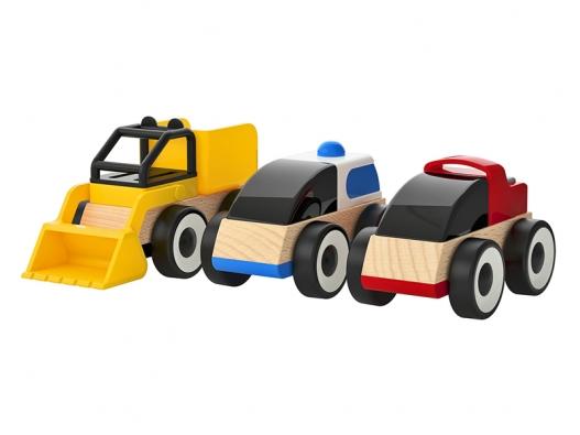 Univerzální autíčko série LILLABO pro děti od18 měsíců (IKEA).