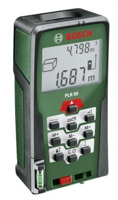 Přesný ainteligentní laserový dálkoměr PLR 50 (BOSCH).