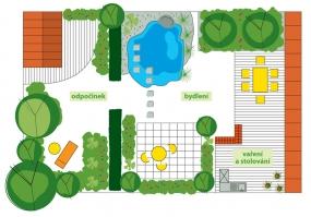 Definitivní podoba – všechny tři prostory byly přetvořeny přiměřeně svému specifickému účelu.