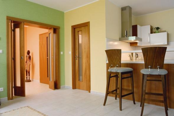 I malý prostor můžete rozdělit aoddělit dveřmi podle užívání apřitom nepřijít omísto.