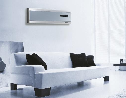 Systém pro čištění vzduchu Nano PLAZMA (LG) odstraňuje mimo jiné prach, pyl, roztoče izápach.