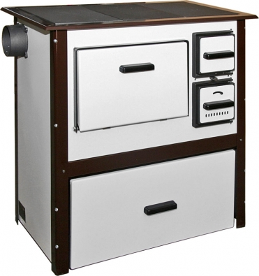 Sporák Rekreant poslouží hlavně kběžnému kuchyňskému použití. Cena 9499Kč (KOVOPLAST).