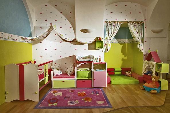Na budování vlastního pokoje by se mělo dítě podílet asamo určit, jak má vypadat, jakou barvou bude vymalovaná apod.