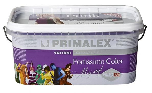 Primalex Fortissimo Color přináší nové, odvážné odstíny Punk vnejvyšší – omyvatelné – kvalitě