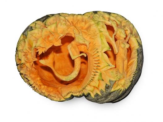 Carving z ovoce a zeleniny