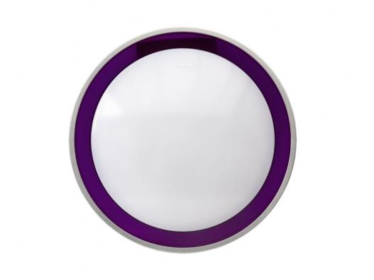 Přisazené kulaté interiérové svítidlo 260/4000 VIOLET sbílým plastovým stínítkem, cena 607Kč (FULGUR).