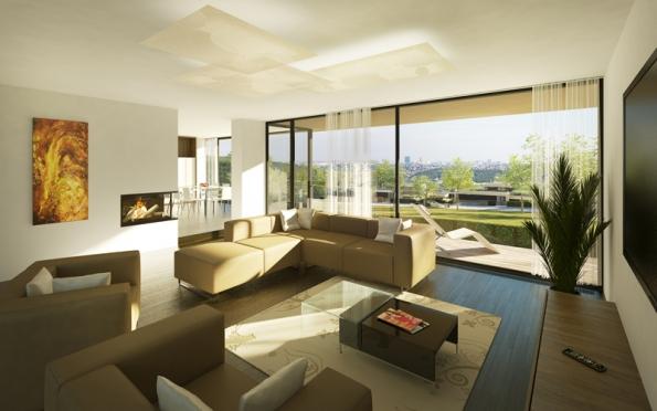 Kvalitní interiérové vybavení.
