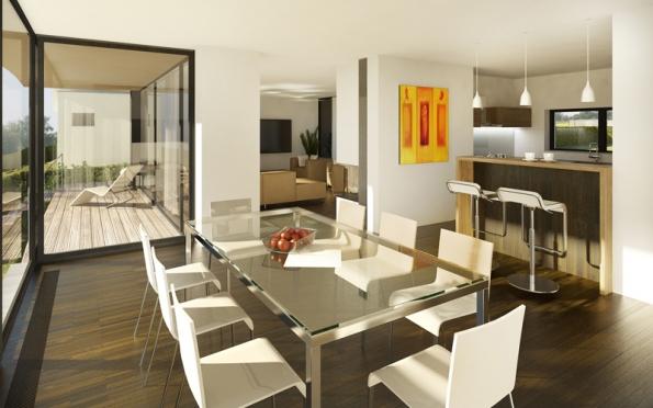 Návrhy reflektují potřeby moderního bydlení.