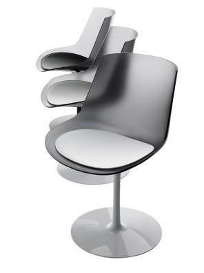 Židle Flow, design Jean-Marie Massaud, cena od5078Kč (KONSEPTI).