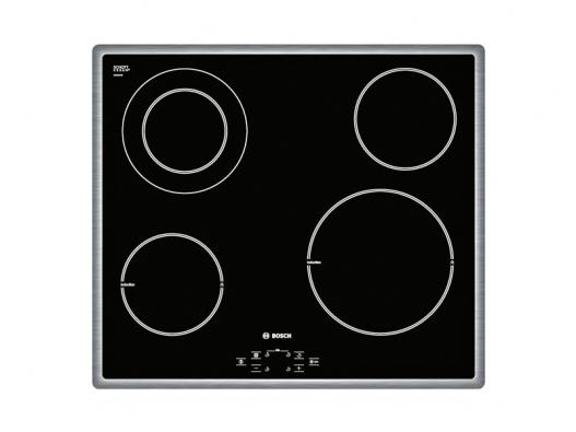 Indukční sklokeramická deska PIF645R14E (Bosch), digitální ukazatel Top Control, 2 indukční varné zóny, cena 19990Kč  (BSH − DOMÁCÍ SPOTŘEBIČE).