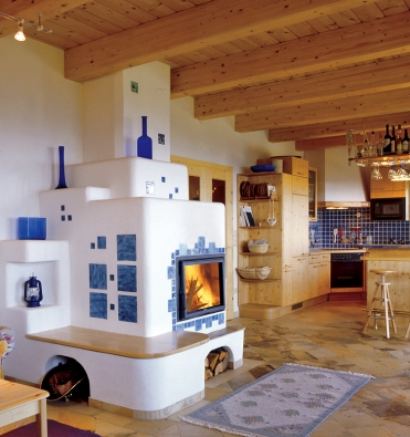 Podle zařízení interiéru volíme druh kachlových kamen. Selská stavení představují určitý folklor…