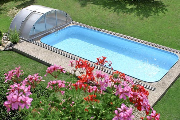 Nový speciálně vyvinutý materiál Albistone určený pro výrobu bazénů má minimálně 5x vyšší rázovou houževnatost (odolnost proti proražení) než polypropylen vběžně používané podobě (ALBIXON).