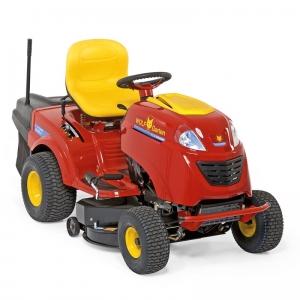 Odletošního roku se nanašem trhu prodává nová řada 14 typů zahradních traktorků odfirmy WOLF-Garten. Šířka záběru je 76, 92 a105cm, výška sečení 3–9,5cm. Všechny jsou komfortní amoderní včetně světlometů zLED diod. Poháněny jsou výkonnými motory Briggs+Stratton. Čtyři modely jsou vybaveny technologií BluePower, která je maximálně šetrná kživotnímu prostředí.