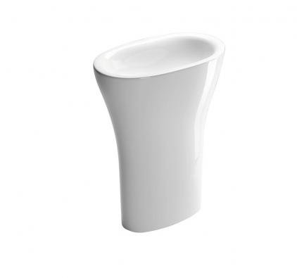 Umyvadlo Muse (Catalano), keramika, barva bílá, černá astříbrná, cena (vbílé barvě) 50400Kč (EIM UNIVERS).