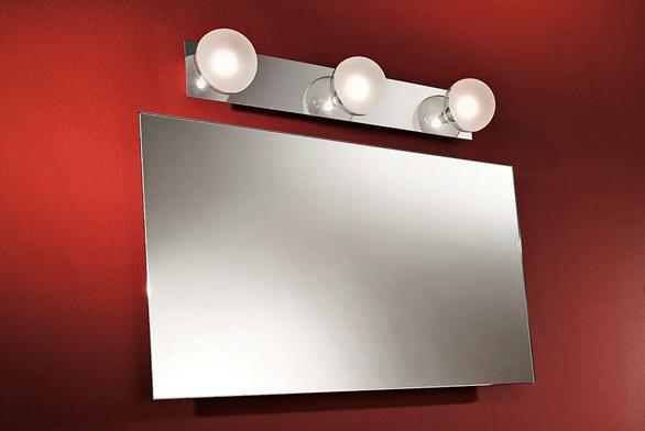 Svítidlo Boll (LINEA LIGHT), vprovedení lesklý chrom asklo, cena 3450Kč (FANEXIM).