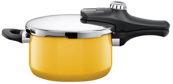 Hrnec Sicomatic econtrol Lemon Green (Silit), objem 4,5l, cena 6299Kč (MOBAX).