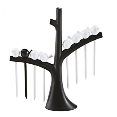 Stojánek spárátky Pi:P (design Fp. Formgebung, Koziol Werks- design), cena 585Kč (HOME ART).