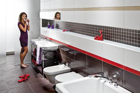 Koupelna pro mladou dámu (ilustrační fotografie)