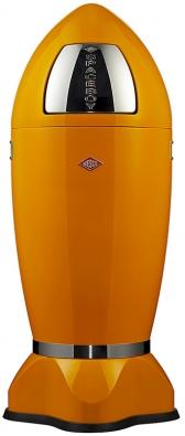 Odpadkový koš Spaceboy XL, lakovaná ocel nebo leštěná ocel, objem 35l, výrobce Wesco. Cena 8995Kč (Potten & Pannen – Staněk).