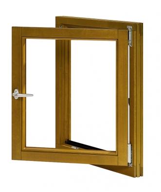 Bezpečné okno musí mít kromě minimálně 2 bezpečnostních bodů také kliku sblokovacím tlačítkem nebo zámkem.