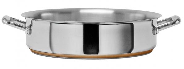Kastrol (Giannini), vhodný pro indukční vaření,  cena od 3830 Kč (LA VECCHIA BOTTEGA).