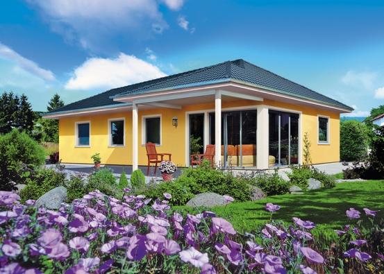 Výhodou jednopodlažních rodinných domů je jednoznačně bezbariérové řešení vnitřního prostoru. Cena domu Lido na klíč činí 2 500 000 Kč (HARTL HAUS).