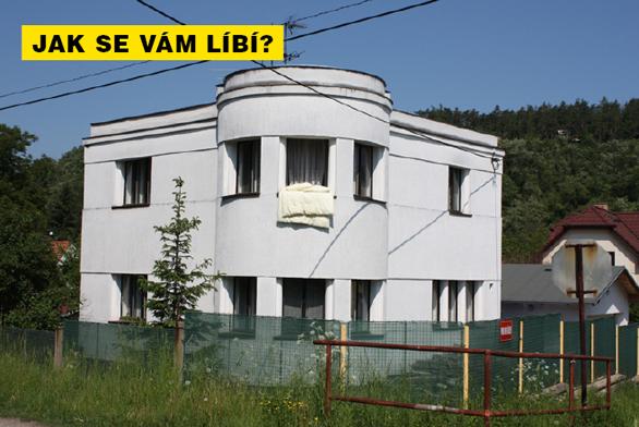 FOTO DNE: Vila se zámeckou věží