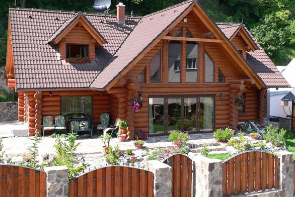 Srubový dům jako stvořený pro zdravé bydlení