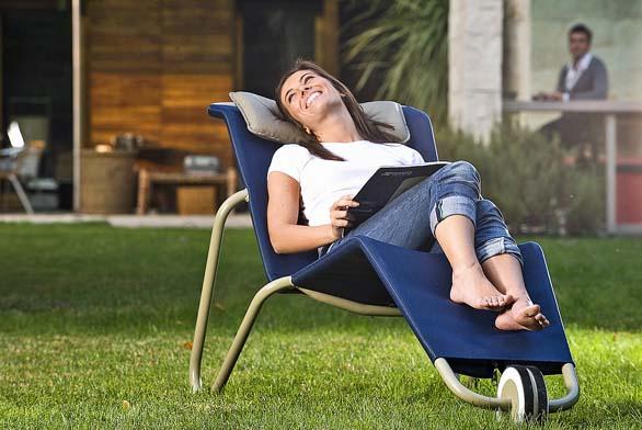 Základem pro výběr zahradního nábytku je pohodlí adobrá relaxace.