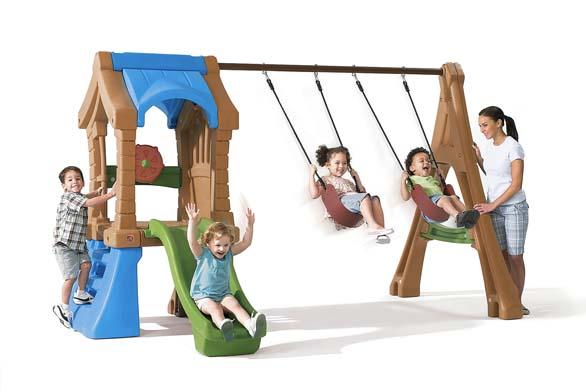 Zábavné centrum Play Up Gym Set – hřiště STEP2 obsahuje vše potřebné pro pohybové vyžití vašich ratolestí aje vyrobeno zkvalitního plastu (BABYWELT).